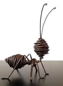 Hormiga XL - 21st Century, Contemporary, Figurative Sculpture, Iron, Ant