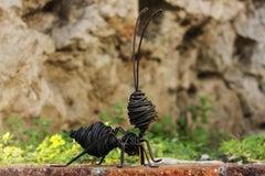 Hormiga L - 21st Century, Contemporary, Figurative Sculpture, Iron, Ant