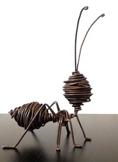 Hormiga M - 21st Century, Contemporary, Figurative Sculpture, Iron, Ant