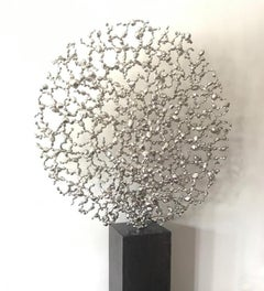 Sanctuary - 21st Century, Contemporary, Abstract Sculpture, Stainless Steel
