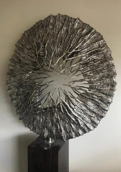 Ascent - 21st Century, Contemporary, Abstract Sculpture, Stainless Steel