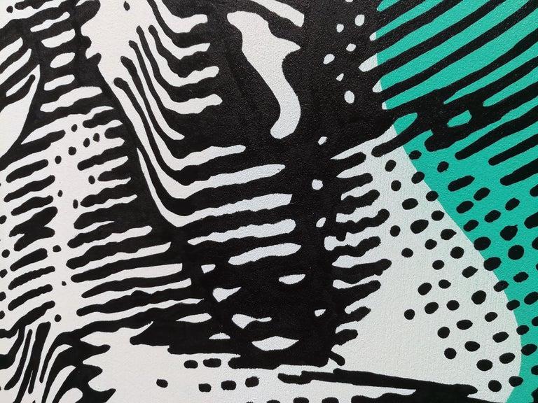 Memory - 21st Century, Contemporary, Urban Art, Acrylic on Wood 3