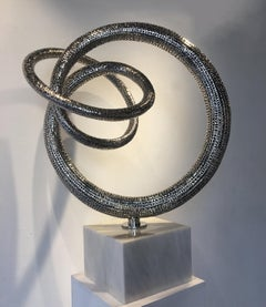 Oblivion (small) - 21st Cent, Contemporary, Abstract Sculpture, Stainless Steel