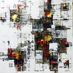 All That Glitters Is Gold - 21st Century, Contemporary, Abstract Painting