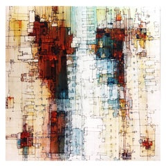 Xenon - 21st Century, Contemporary, Abstract Painting, Oil, Acrylic