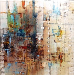 Trimix - 21st Century, Contemporary, Abstract Painting, Acrylic, Oil