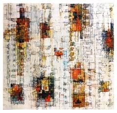 Radon - 21st Century, Contemporary, Abstract Painting, Acrylic, Oil