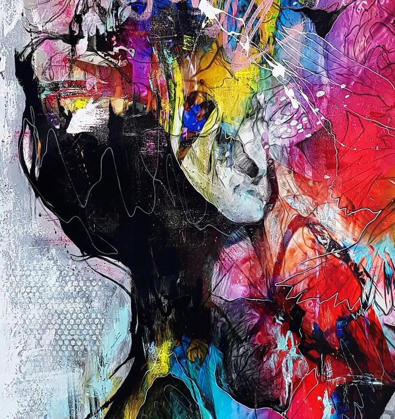 Electro-Magicism - 21st Century, Contemporary Painting, Portrait, Graffiti For Sale 4
