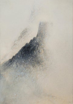 Black Mountains XVI - 21st Century, Contemporary, Abstract Painting, Landscape