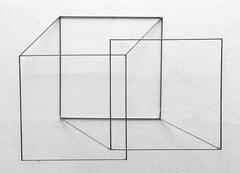 Espacio Compartido II - 21st Century, Contemporary Art, Abstract, Iron Sculpture