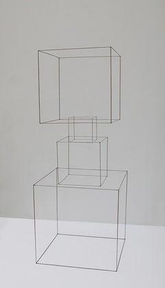 Homenaje A La Levedad I - 21st Cent, Contemporary Art, Abstract, Iron Sculpture