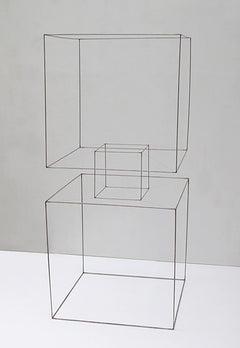Homenaje A La Levedad II - 21st Cent, Contemporary Art, Abstract, Iron Sculpture