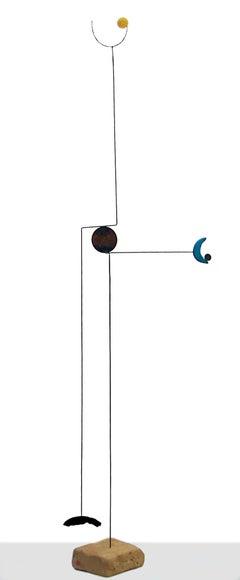 Veleta Indicando Al Sur - 21st Cent, Contemporary Art, Abstract Sculpture, Iron
