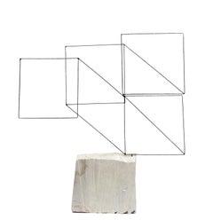 Visión Laberíntica I - 21st Century, Contemporary, Abstract Sculpture, Iron