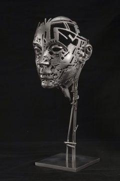 Irene - 21st Century, Contemporary, Figurative Sculpture, Steel, Portrait