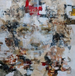 New Day - 21st Century, Contemporary, Figurative, Abstract Painting, Portrait