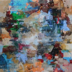 Cortex - 21st Century, Contemporary, Figurative, Abstract Painting, Portrait