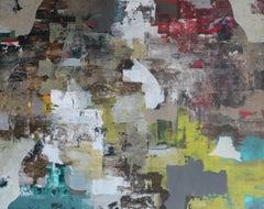 Aequoreas - 21st Century, Contemporary, Figurative, Abstract Painting, Portrait