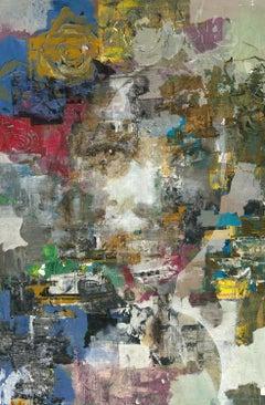 Future - 21st Century, Contemporary, Figurative-Abstract Portrait, Print, Canvas