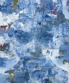 Liquid - 21st Century, Contemporary, Figurative-Abstract Portrait, Print, Canvas