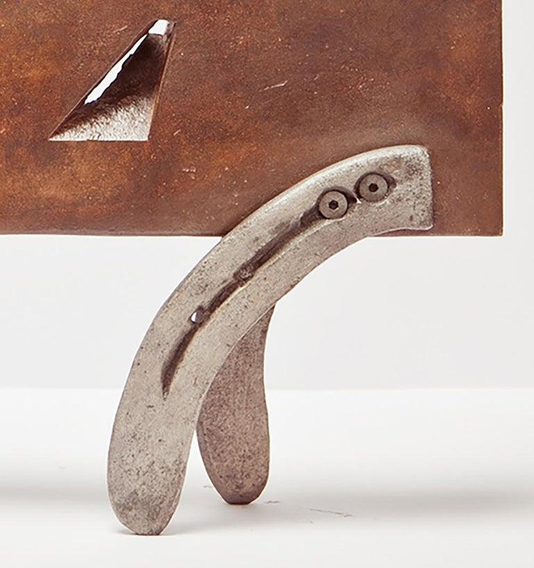 Gato De Bronce - 21st Century, Contemporary Sculpture, Figurative, Bronze, Cat For Sale 1