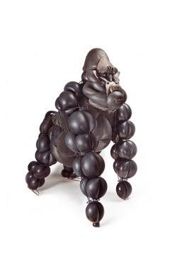 Joe, Gorila - 21st Century, Contemporary Sculpture, Figurative, Recycled Objects