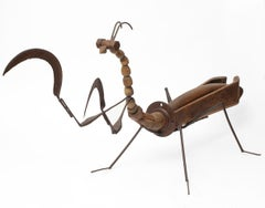 Mantis - 21st Century, Contemporary Sculpture, Figurative, Recycled Objects