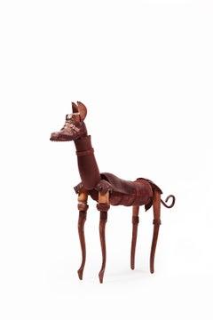 Perro De Bronce - 21st Century, Contemporary Sculpture, Figurative, Bronze, Dog