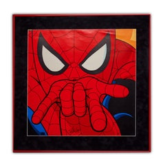Marvel Spider Man Classic Signed Poster Display - Signed by Stan Lee - Pop Art