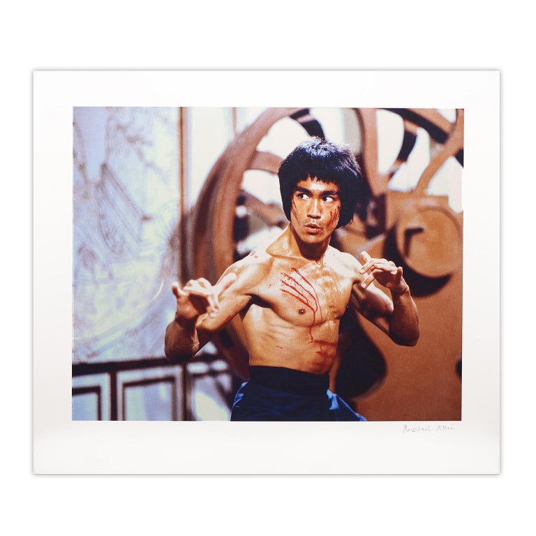 Bruce Lee 'Enter The Dragon' – 'Facing the Nemesis' Limited Edition- Pop Art - Photograph by Bruce Lee