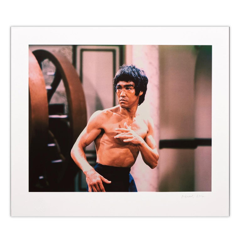 Bruce Lee 'Enter The Dragon' – 'Warrior Without Fear' Limited Edition - Pop Art - Print by Bruce Lee