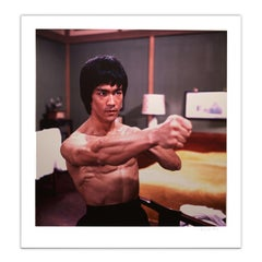 Bruce Lee 'Enter The Dragon' – 'Dragon Fist' Limited Edition, Colour - Pop Art