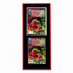 Wolverine Stone Cold Death 101 Framed Separations Display - Pop Art, Marvel