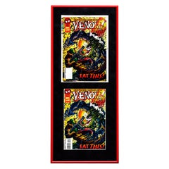 Venom 'Sinner Takes All' Framed Separations Display - Pop Art, Marvel