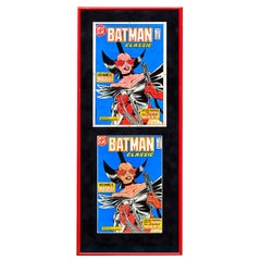 DC Batman Classic 401 Framed Separations Display - Pop Art, Marvel