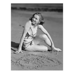Marilyn Monroe By Joseph Jasgur (Love Heart) - B&W Limited Edition Print 5/500