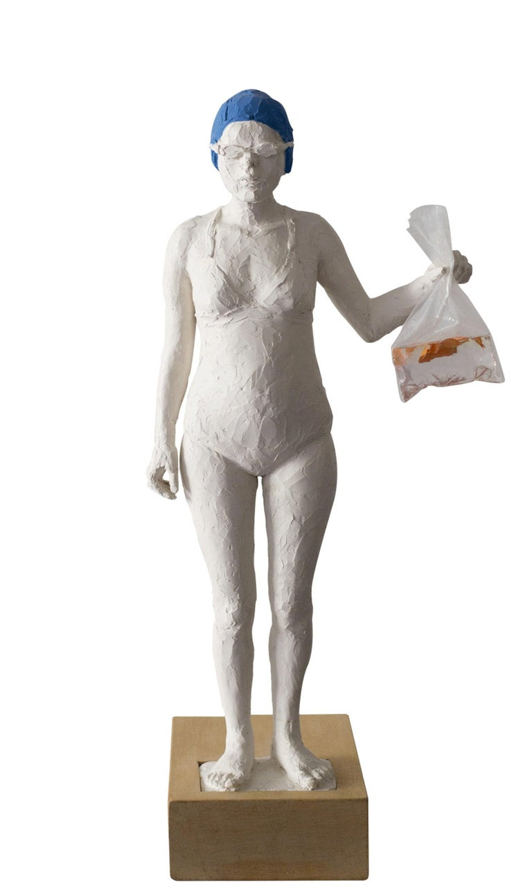 Isabelle Corniere Figurative Sculpture - La Cuffia #1