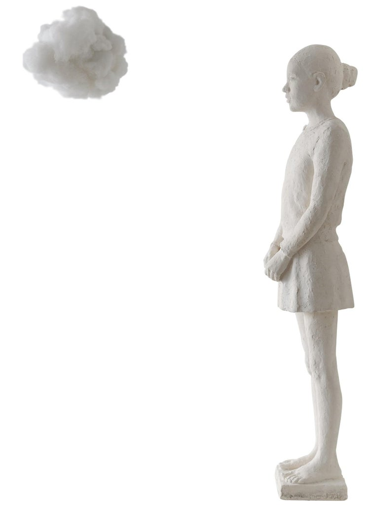 Isabelle Corniere Figurative Sculpture - The Cloud