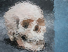 Untitled (Skull with Blue)