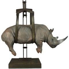 Il peso del tempo sospeso/rhino