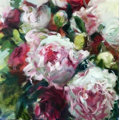 Grandifiora, Jamie Evrard, Oil on Canvas, Unframed