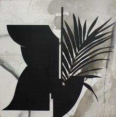 Black and White Painting, Kathryn Macnaughton, Acrylic on Canvas