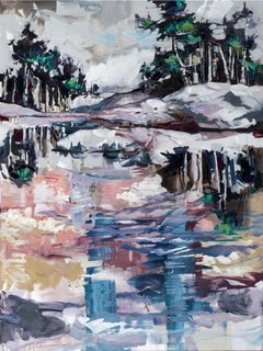 Original Painting by Cori Creed, On Reflection, Oil on Canvas