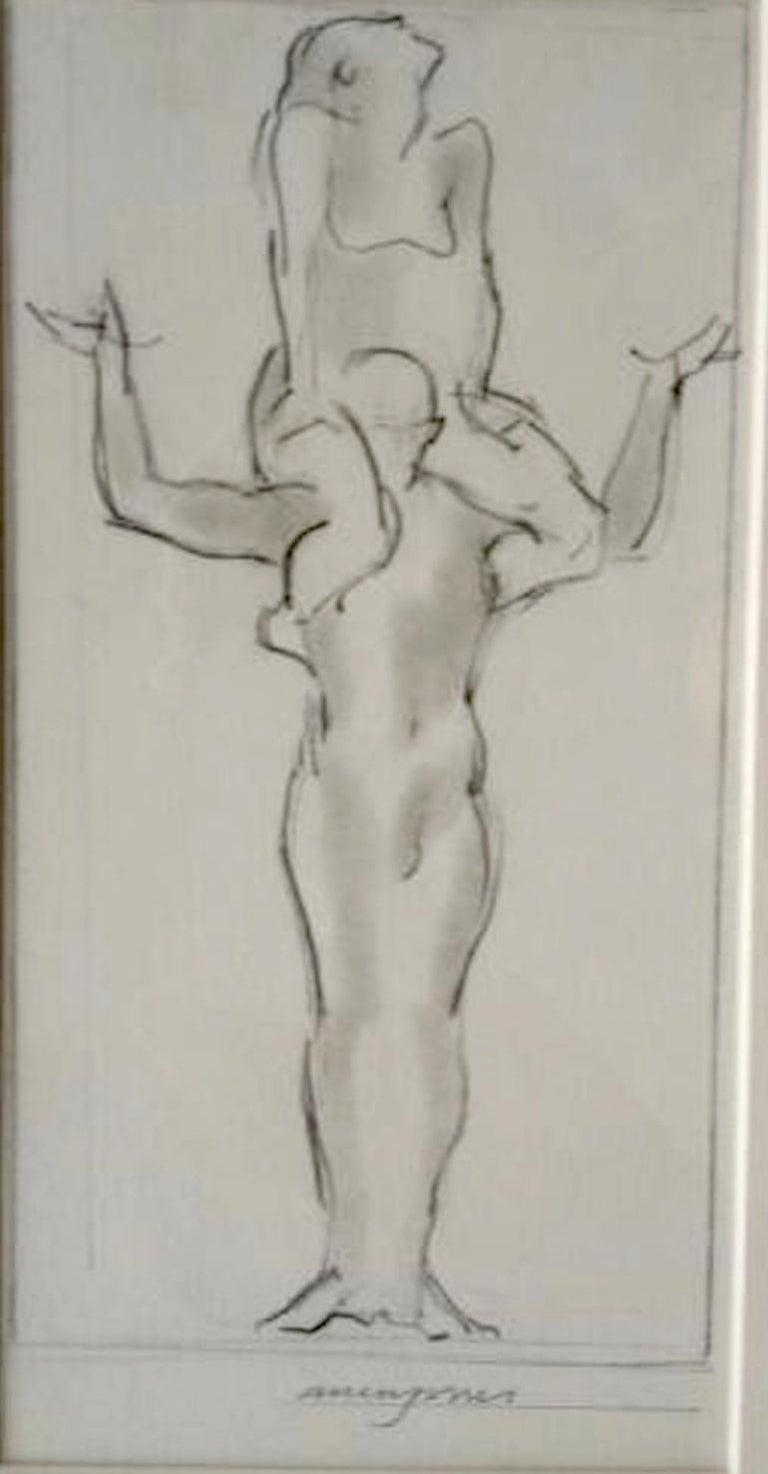 Allen Jones Figurative Art - Cascade