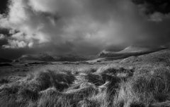 Light on the Moor - 21st Century, Archival Pigment Print, B&W photography