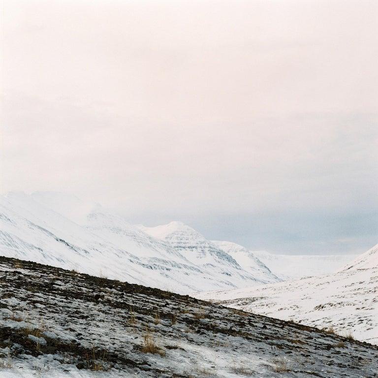 Nils Karlson Landscape Photograph - Unique Particles 8 - 21st Century, Minimalist Landscape photography