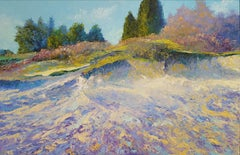 Dutch Heath- 21st Century Contemporary Landscape Painting by Ronald Soeliman