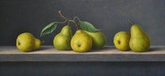 Pears - Annelies Jonkhart, 21st Century Contemporary Oil Painting with fruit