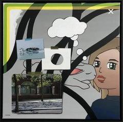 Reality, Relativity and Rabbits V-21st Century Contemporary Painting