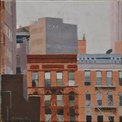 New York II- 21 st Century Contemporary City Painting
